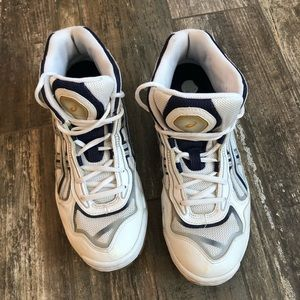 asics gel rhyno skin mid high top shoes size 11.5